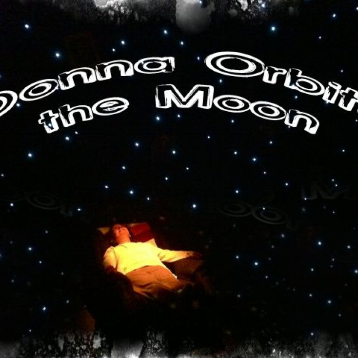 DONNA ORBITS THE MOON at NJ Rep